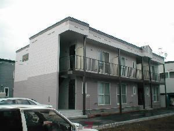 北広島2DKアパート外観
