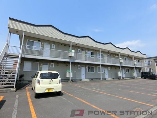 北広島2LDKアパート外観
