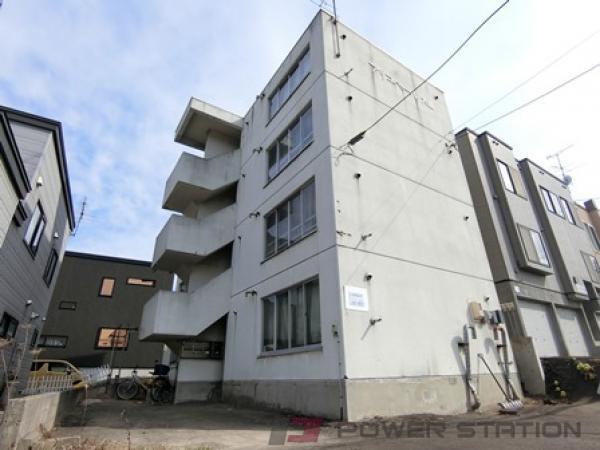 北広島2LDKマンション外観