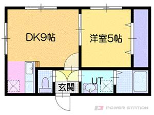 北広島市大曲中央1丁目0賃貸アパート間取図面