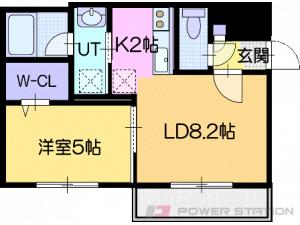 Reve北広島:2号室