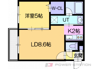 Reve北広島:3号室