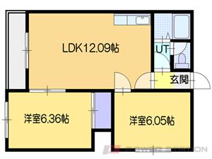 アパート・ハイツミキB