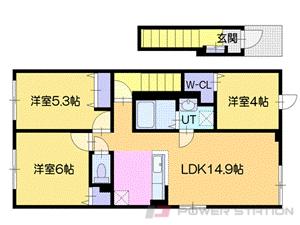 アパート・タカトモドリーム北広島