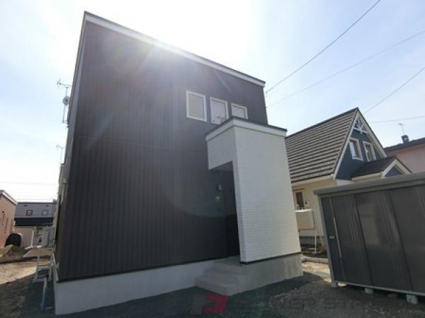 北広島3LDK一戸建貸家外観