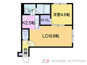 アパート・エクセレントコンフォートB