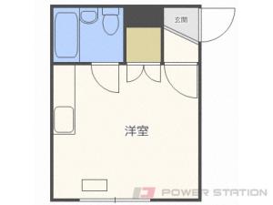 札幌市白石区菊水3条4丁目0賃貸マンション間取図面