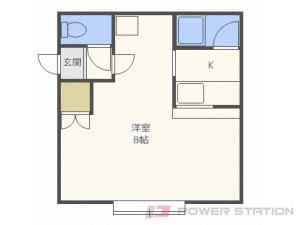 札幌市白石区栄通21丁目0賃貸アパート間取図面