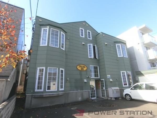 札幌市白石区栄通20丁目0賃貸アパート外観写真