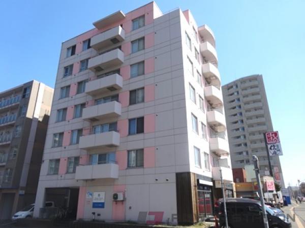 札幌市白石区マンション 1K