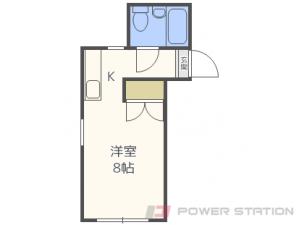 札幌市白石区栄通21丁目0賃貸マンション間取図面