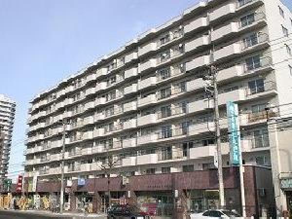 東札幌3LDK分譲リースマンション外観
