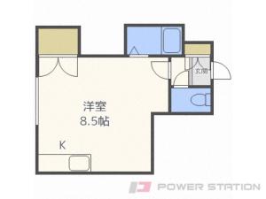 札幌市白石区南郷通20丁目南0賃貸アパート間取図面
