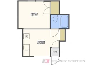 札幌市白石区栄通19丁目0賃貸アパート間取図面