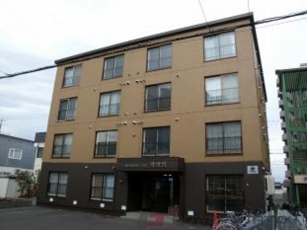札幌市白石区菊水6条2丁目0賃貸マンション外観写真