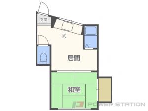 札幌市白石区菊水1条1丁目1賃貸マンション間取図面