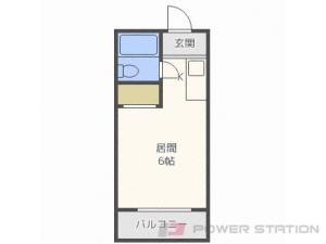 札幌市白石区平和通8丁目南1賃貸マンション間取図面