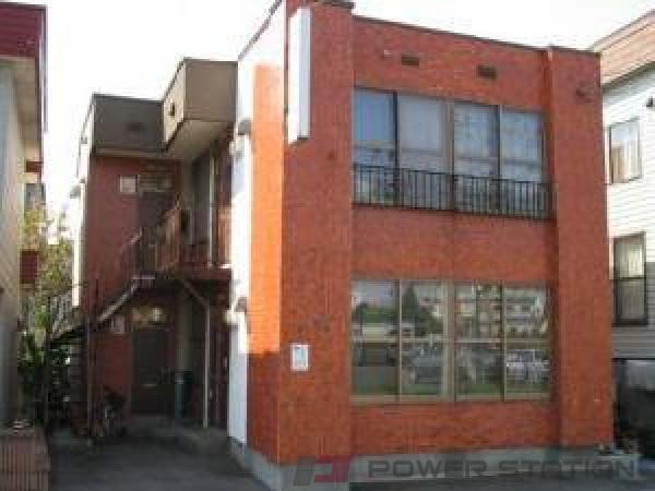 札幌市白石区中央1条6丁目0賃貸アパート外観写真