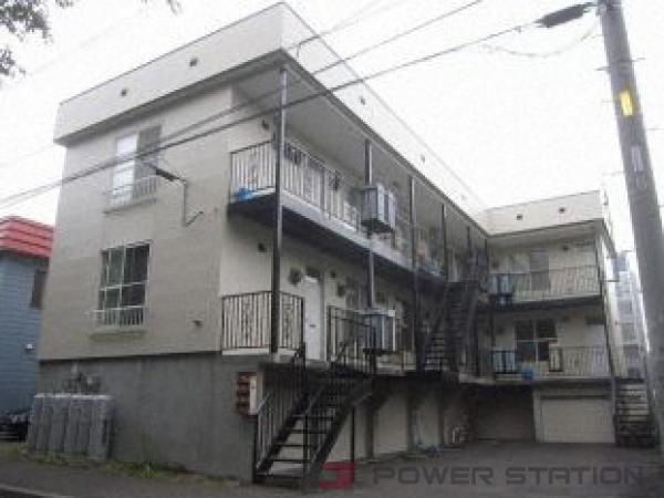 札幌市白石区南郷通12丁目南1賃貸アパート外観写真