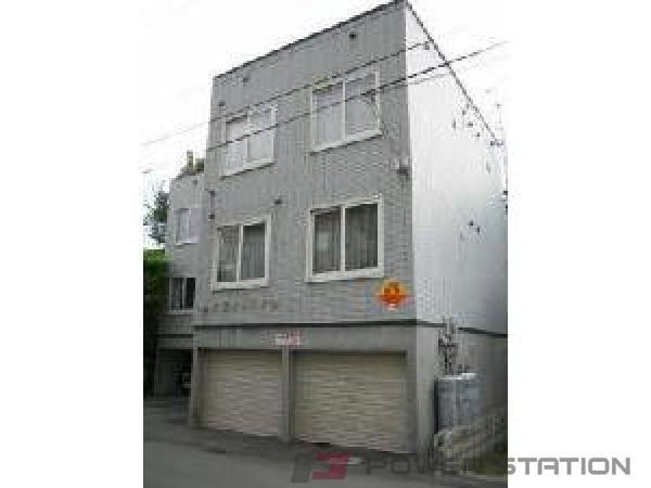 東札幌1LDKアパート外観
