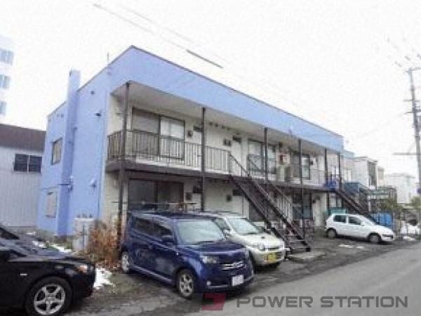 東札幌2LDKアパート外観