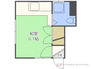 札幌市白石区栄通13丁目0賃貸アパート間取図面