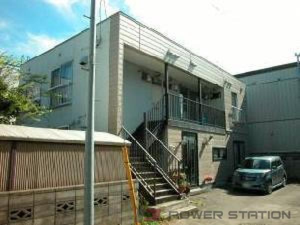東札幌1DKアパート外観