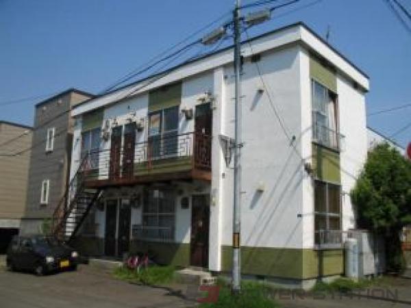 札幌市白石区栄通15丁目1賃貸アパート外観写真