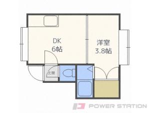 札幌市白石区栄通6丁目0賃貸アパート間取図面