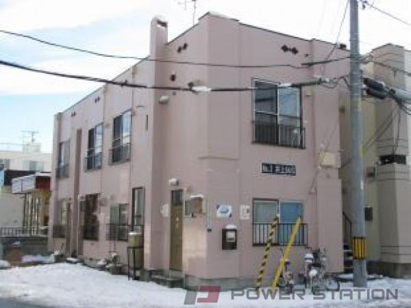 札幌市白石区本郷通2丁目北0賃貸アパート外観写真