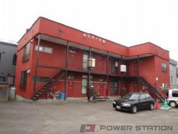 札幌市白石区中央2条6丁目0賃貸アパート外観写真