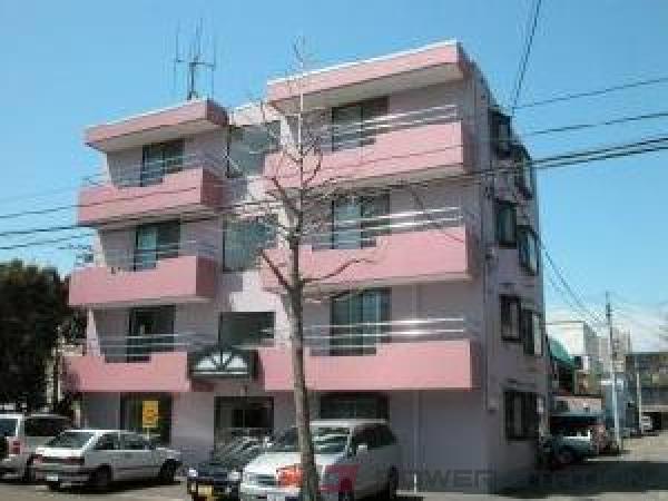 東札幌1K分譲リースマンション外観