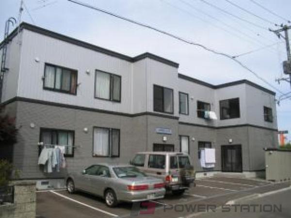 札幌市白石区川下4条5丁目0賃貸アパート外観写真