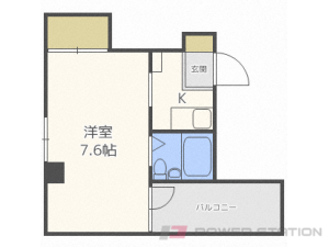 札幌市白石区本郷通6丁目北0賃貸マンション間取図面