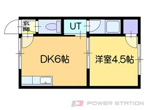 札幌市白石区栄通15丁目0賃貸アパート間取図面