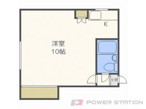 札幌市白石区菊水4条1丁目1賃貸マンション間取図面