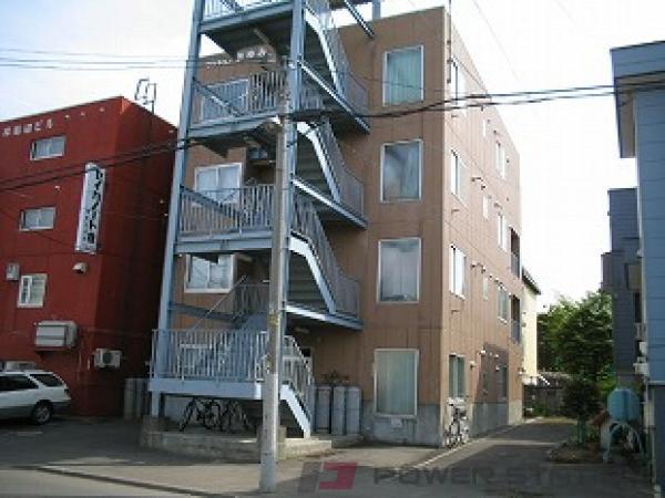 札幌市白石区栄通7丁目0賃貸マンション外観写真