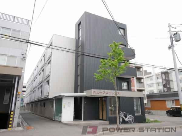 東札幌1Rマンション外観