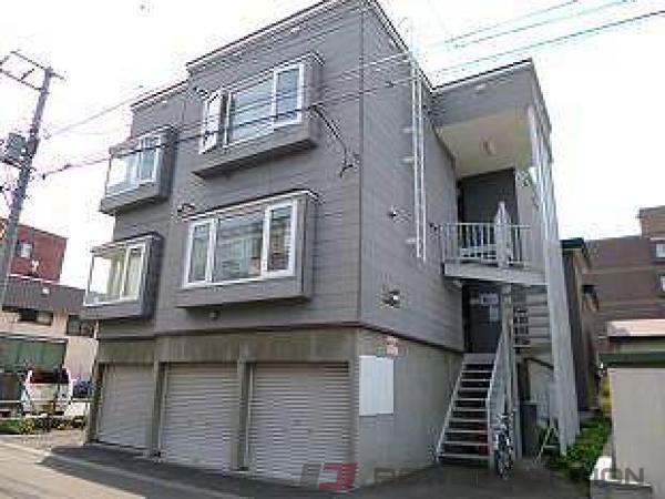 札幌市白石区栄通5丁目0賃貸アパート外観写真
