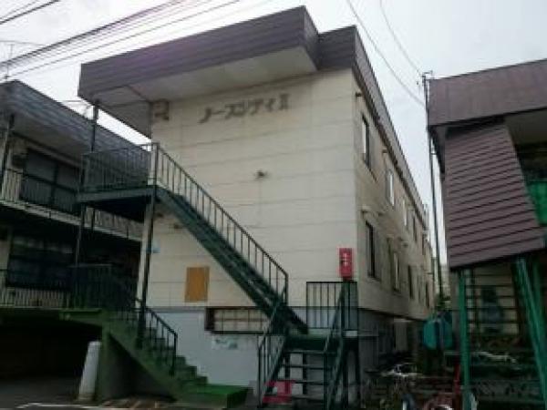 南郷7丁目1Rアパート外観