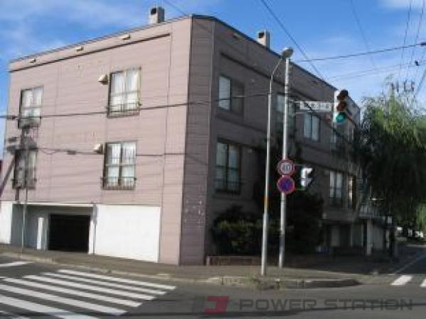 札幌市白石区菊水3条4丁目0賃貸アパート外観写真