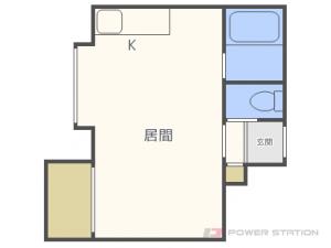 札幌市白石区菊水3条4丁目0賃貸アパート間取図面