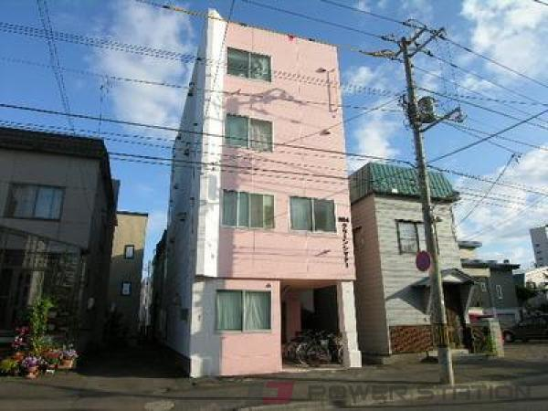 菊水1Kマンション外観