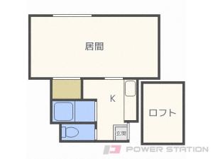 札幌市白石区北郷1条7丁目0賃貸アパート間取図面
