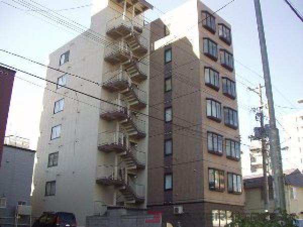 札幌市豊平区豊平2条2丁目1賃貸マンション外観写真