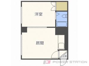 札幌市豊平区豊平6条3丁目0賃貸アパート間取図面