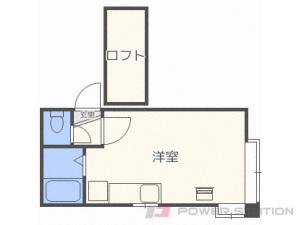 札幌市豊平区豊平5条3丁目1賃貸アパート間取図面