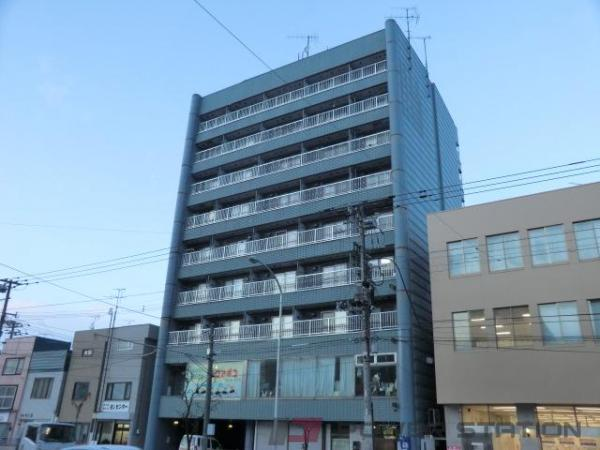 札幌市豊平区豊平3条7丁目0賃貸マンション外観写真