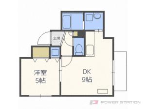札幌市豊平区平岸1条1丁目1賃貸マンション間取図面