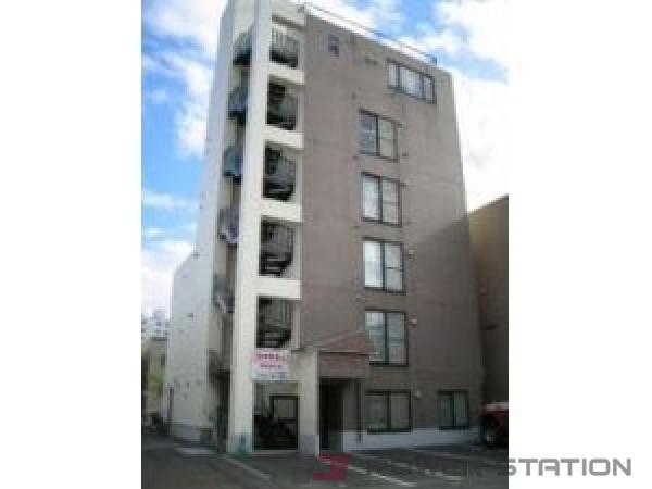 札幌市豊平区豊平4条5丁目0賃貸マンション外観写真